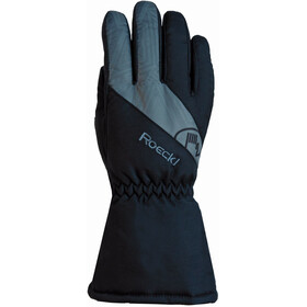 Roeckl Auron Gloves Kids black/grey